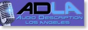 audio description los angeles logo